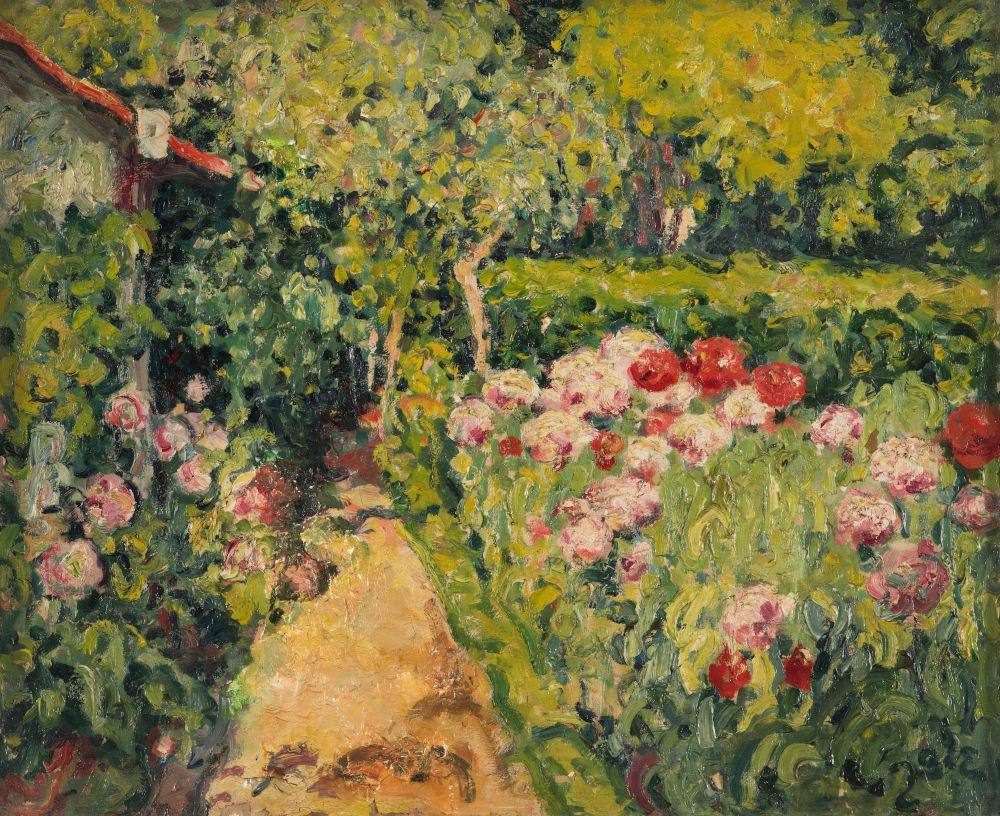 musée, Collioure, paysage, jardin, fleurs, georges_despagnat