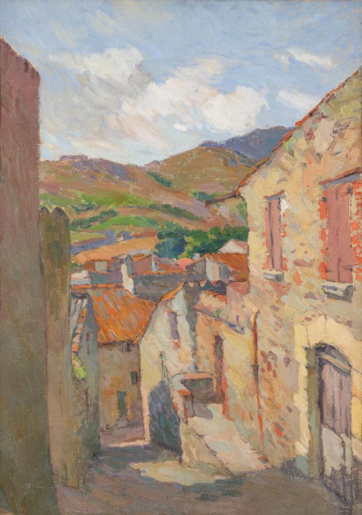 Collioure ; façade ; mer ; Méditerranée ; Martin